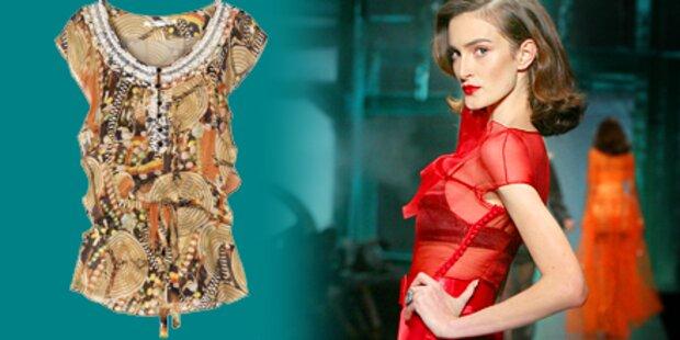 Klassisch oder kess: Trend-Blusen