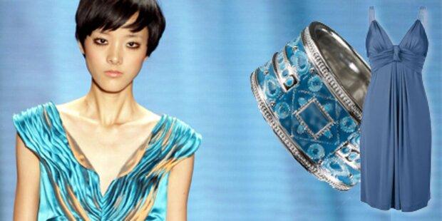 Strandurlaub: Fashion in Ozean-Farben