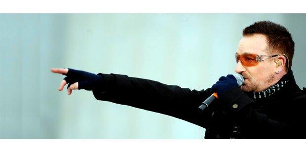 U2 geben kein zweites Wien-Konzert