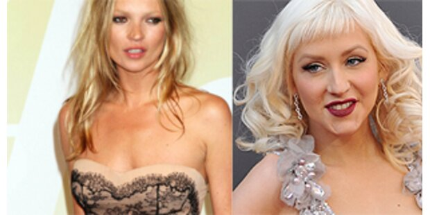 Christina Aguilera macht Kate Moss Konkurrenz