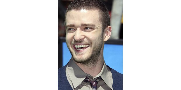 Pop Star Justin Timberlake wird Model