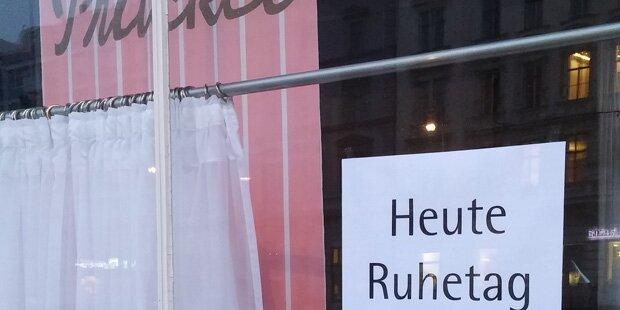 Ruhetag: Prückel flieht vor Lesben-Demo