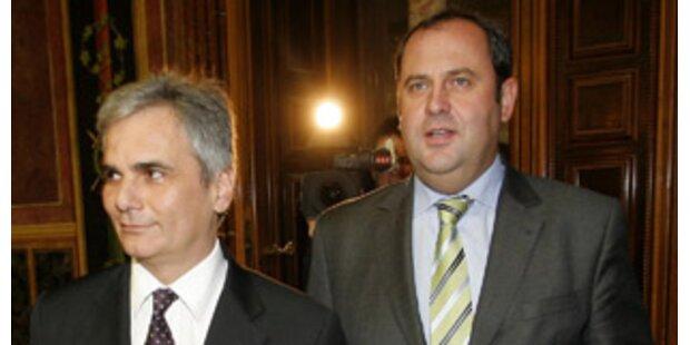 SPÖ und ÖVP einigen sich auf vorgezogene Steuerreform
