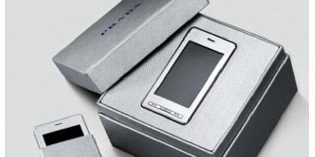 Prada-Handy kommt jetzt in Silber