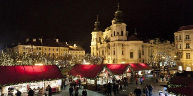 Adventzauber in Prag genießen