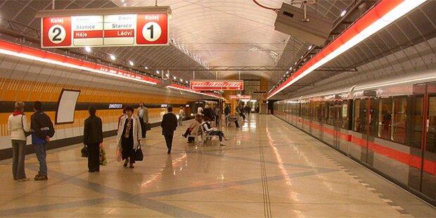Prag: U-Bahn startet Flirt-Waggons