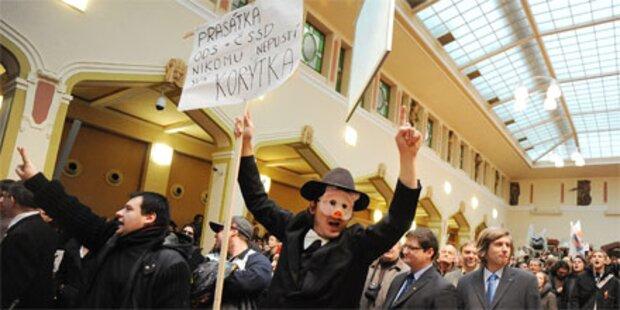 Heftige Proteste bei Bürgermeisterwahl