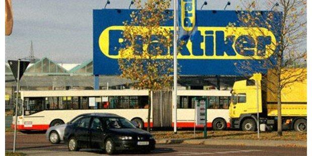 Praktiker zieht sich aus Österreich zurück