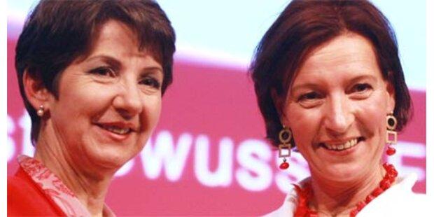 Heinisch-Hosek ist neue SPÖ-Frauenchefin