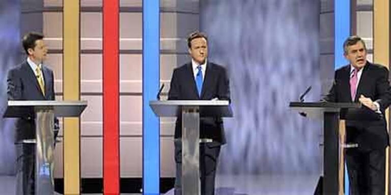 Britische Kandidaten in historischem Duell