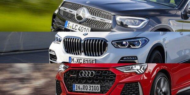 Mercedes, BMW & Audi gewinnen an Fahrt
