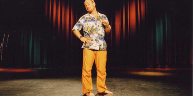 Roland Düringer auf der Bühne,  © Bild: Lukas Beck