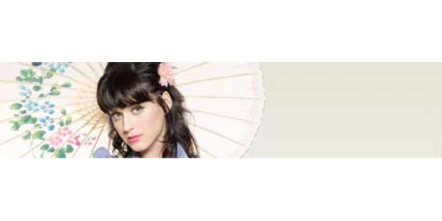Katy Perry stürmt die Österreich-Charts