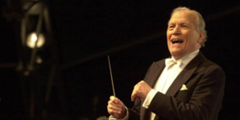 Georges Pretre dirigiert das Neujahrskonzert 2008