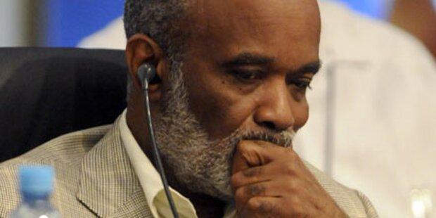 Haiti: Preval spricht von 300.000 Toten