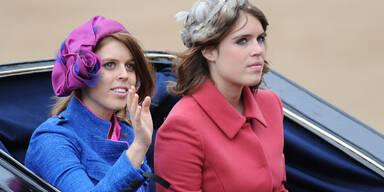 Prinzessin Beatrice; Prinzessin Eugenie