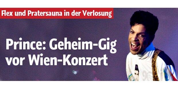 Prince: Geheim-Gig vor Wien-Konzert