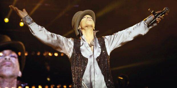 Prince ganz exzentrisch in Budapest