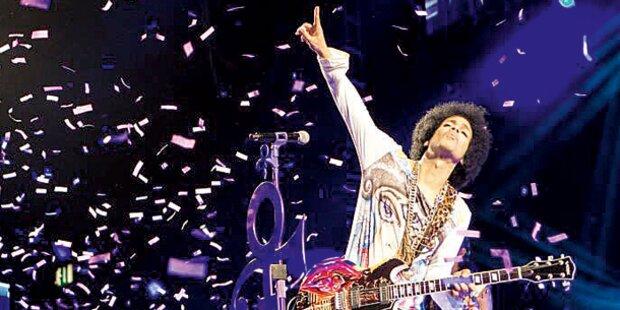 Prince rockte 16 Zugaben in Wien