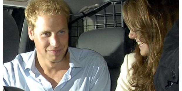 William und Kate zusammen fotografiert