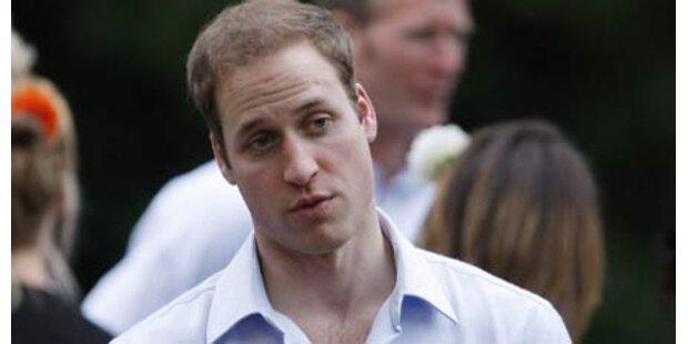 Prinz William vertritt Queen