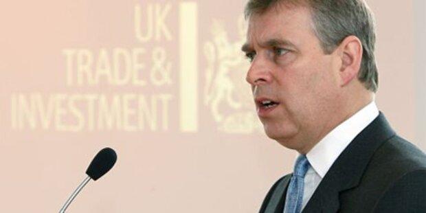 Prinz Andrew rügt Politiker: