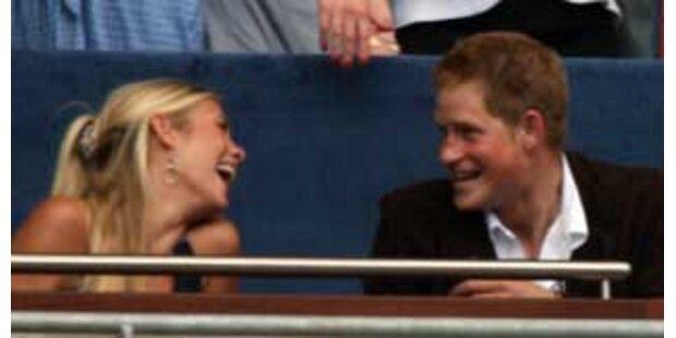 Prinz Harry und seine Chelsy unzertrennlich