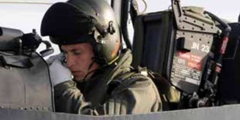 Prinz William ist Pilot.