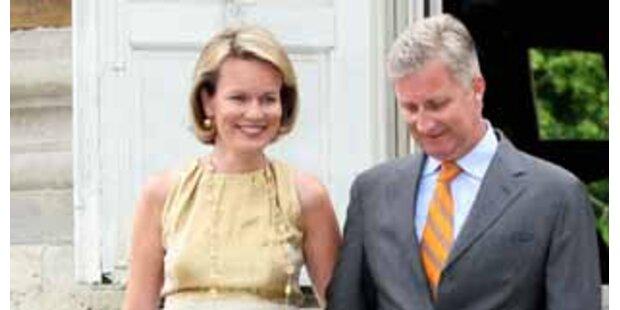 Belgisches Prinzenpaar bekam Tochter