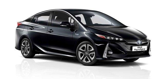 Verbesserter Prius Plug-in-Hybrid startet
