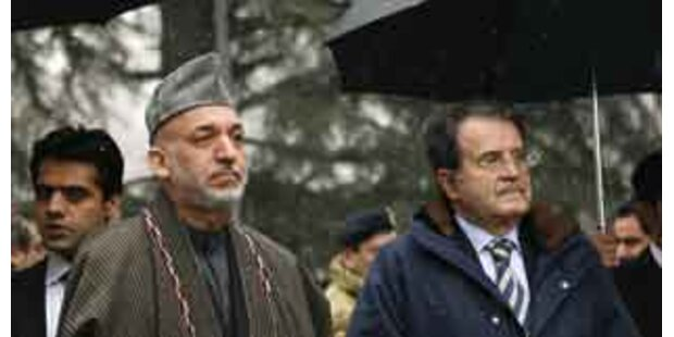 Italiens Ministerpräsident in Kabul eingetroffen