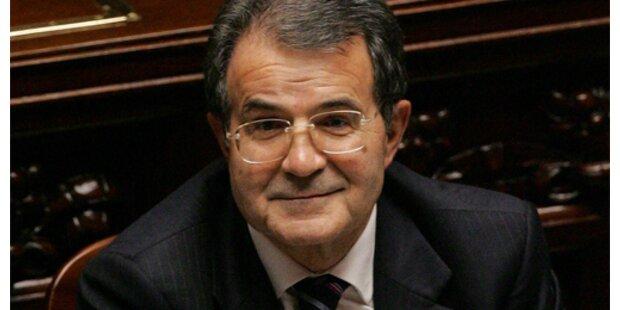 Prodi erhielt Brief mit Pistolenkugel