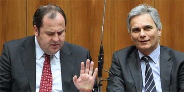 SPÖ und ÖVP haben Knatsch beigelegt