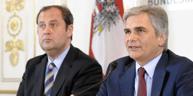 Budget: Koalition zieht Beratungen vor