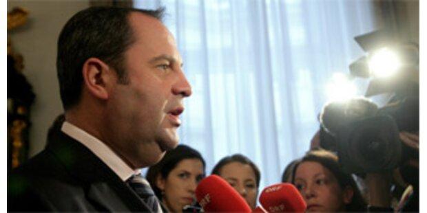 Laut Pröll steht Koalition am Sonntag noch nicht