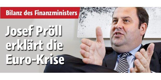 Josef Pröll erklärt die Euro-Krise