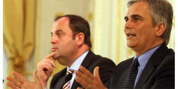 Protokoll von handfestem Koalitionskrach