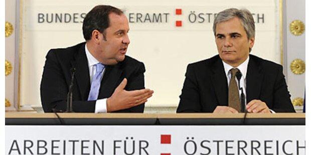 Pröll fordert von SPÖ Verlässlichkeit