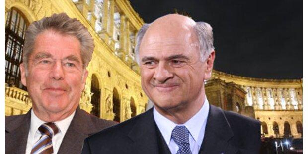 Facebook-Duell um die Hofburg