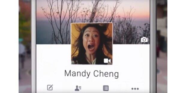 Facebook erlaubt Mini-Videos als Profilbilder