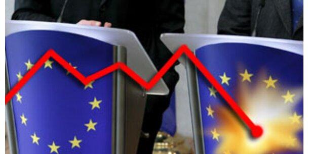 EU reduziert Wachstumsprognose für Eurozone 2008