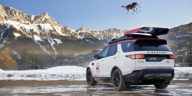 Neuer Discovery mit integrierter Drohne