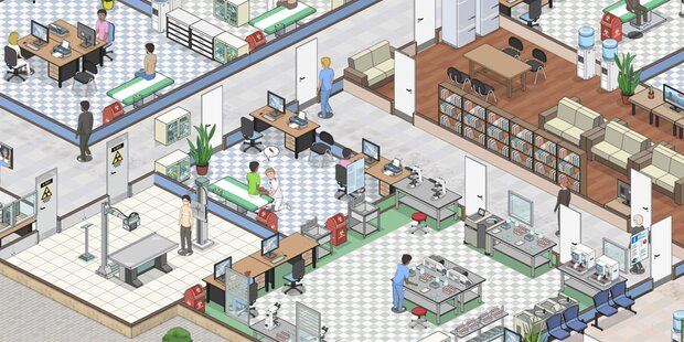 Indie-Game reanimiert Theme Hospital