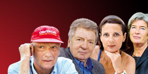 Das sagen die Promis zur Wien-Wahl