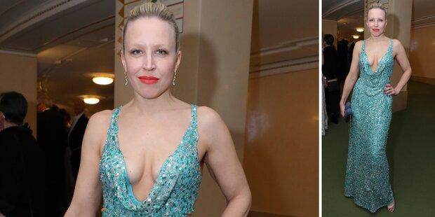 Nina Proll: Das Geheimnis ihres Aufreger-Kleides