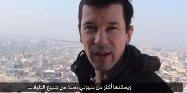 ISIS zeigt neues Video mit Geisel