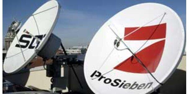 ProSiebenSat.1 vor RTL-Sendern und ATV