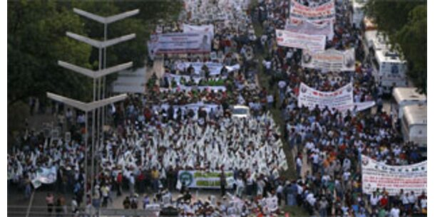 Bauern protestieren in Mexiko gegen US-Abkommen