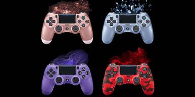 Sony bringt vier coole PS4-Controller