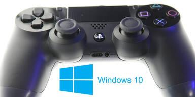 PS4-Controller kabellos am Windows-PC nutzen
